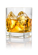 Tumbler mit Whisky on the rocks - 70606343