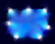 Flashlights. Vector illustration.