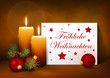 Fröhliche Weihnachten, Weihnachten, Grußkarte, Postkarte, xmas