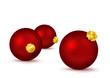 Weihnachtskugel, Weihnachten, Kugel, rot, 3D, Dekoration, xmas
