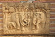 elephant statue on the wall
