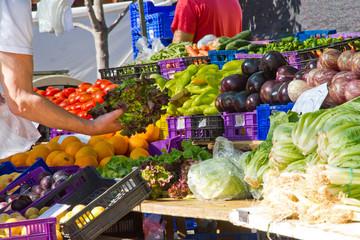 Auf dem Markt in Valldemossa