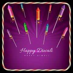 Stylish background of diwali
