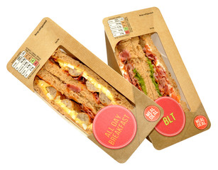 Packs Of Sandwiches