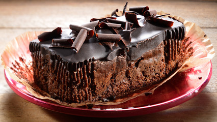 Chocolate cake whole