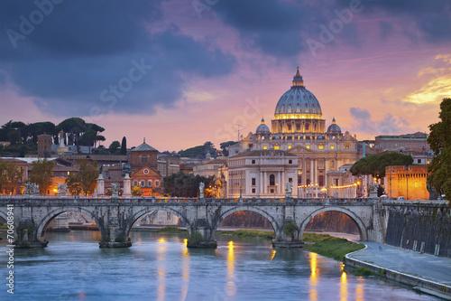 Canvas Rome Rome.