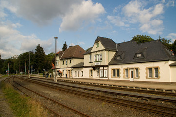 Bahnhof Elend im Harz