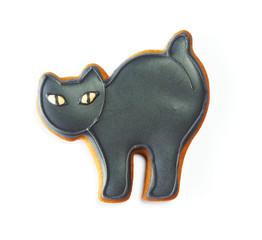 Halloween gingerbread cookie