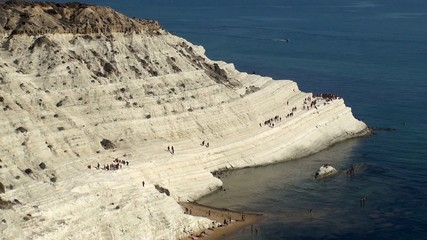 Stair of the Turks (Scala dei Turchi). Sicily