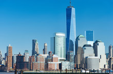Нью-Йорк - Manhattan Skyline