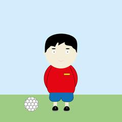 Spain soccer player