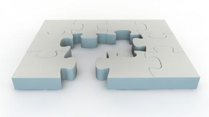 Jigsaw falling puzzle