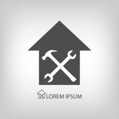 House repair symbol