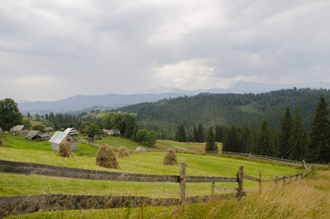 ферма в горах