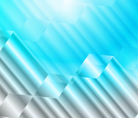 Background abstract vector Illustration blue