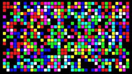 Colorfull pixels