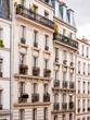 Pariser Häuserfassaden
