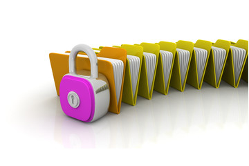 Folder security concept ..