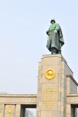 Soviet War Memorial in Berlin, Germany