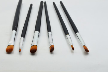Makeup Brush Isolated