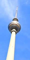 Television Tower (Fernsehturm) in Berlin, Germany