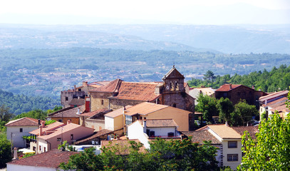Villanueva del conde, sierra de francia, spain