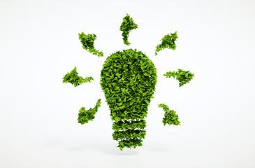 Ecology bulb symbol