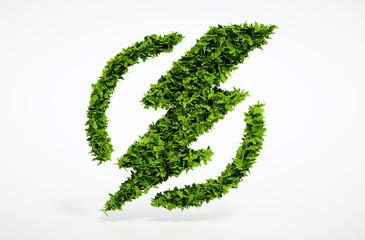 Ecology flash symbol