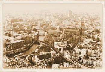 Vintage postcard from Berlin