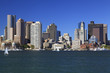 Boston skyline and Inner Harbor, USA