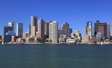 Boston skyline, USA