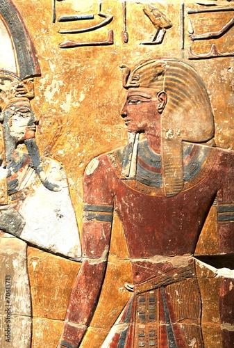 Foto op Plexiglas Wand Egyptian