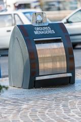 Poubelle  recyclage ordures ménagères
