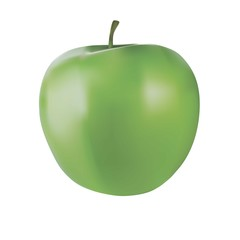 Green apple with no leaf