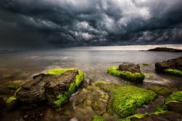 Stormy sea near Varvara, Bulgaria