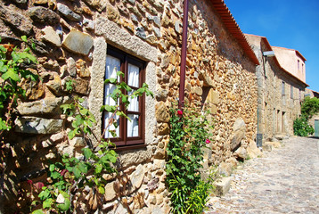 Street of old village, Castelo Rodrigo, Portugal