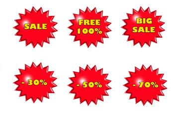 Sales Stickers