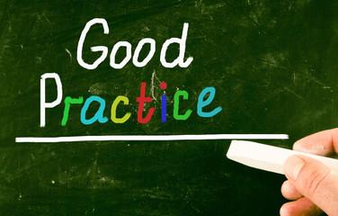 good practice concept