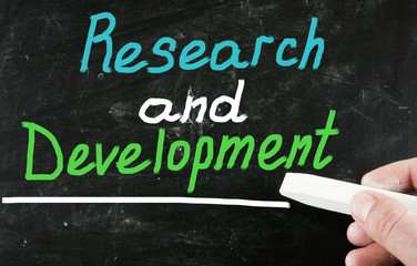 research and development concept