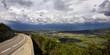 canvas print picture - Blick auf Sault, Provence