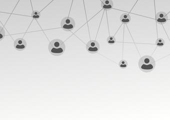 Active user connection model - web net