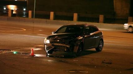 car Crash the night