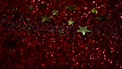 twinkle christmas background