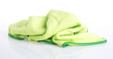 towel. Kitchen towel on a background