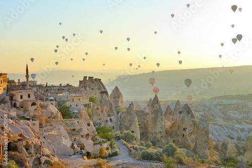 Leinwandbild Motiv Cappadocia, Turchia, camini delle fate  di Goreme
