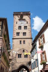 La Tour des Bouchers à Ribeauvillé, Haut Rhin, Alsace