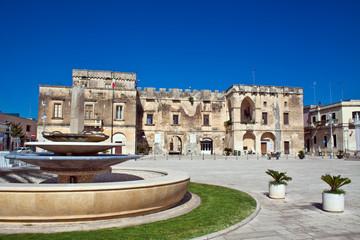 Cavallino (Lecce), il Castello Ducale - Puglia, Italy