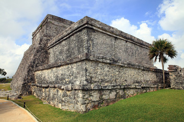 Ancient Mayan stone observatory