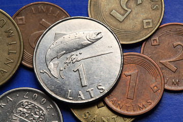 Coins of Latvia