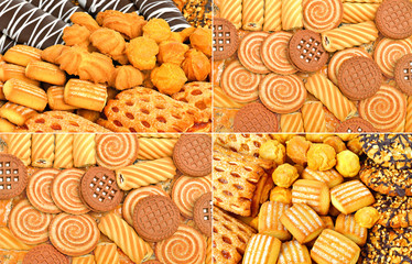 Shortbread, puffs and cookies